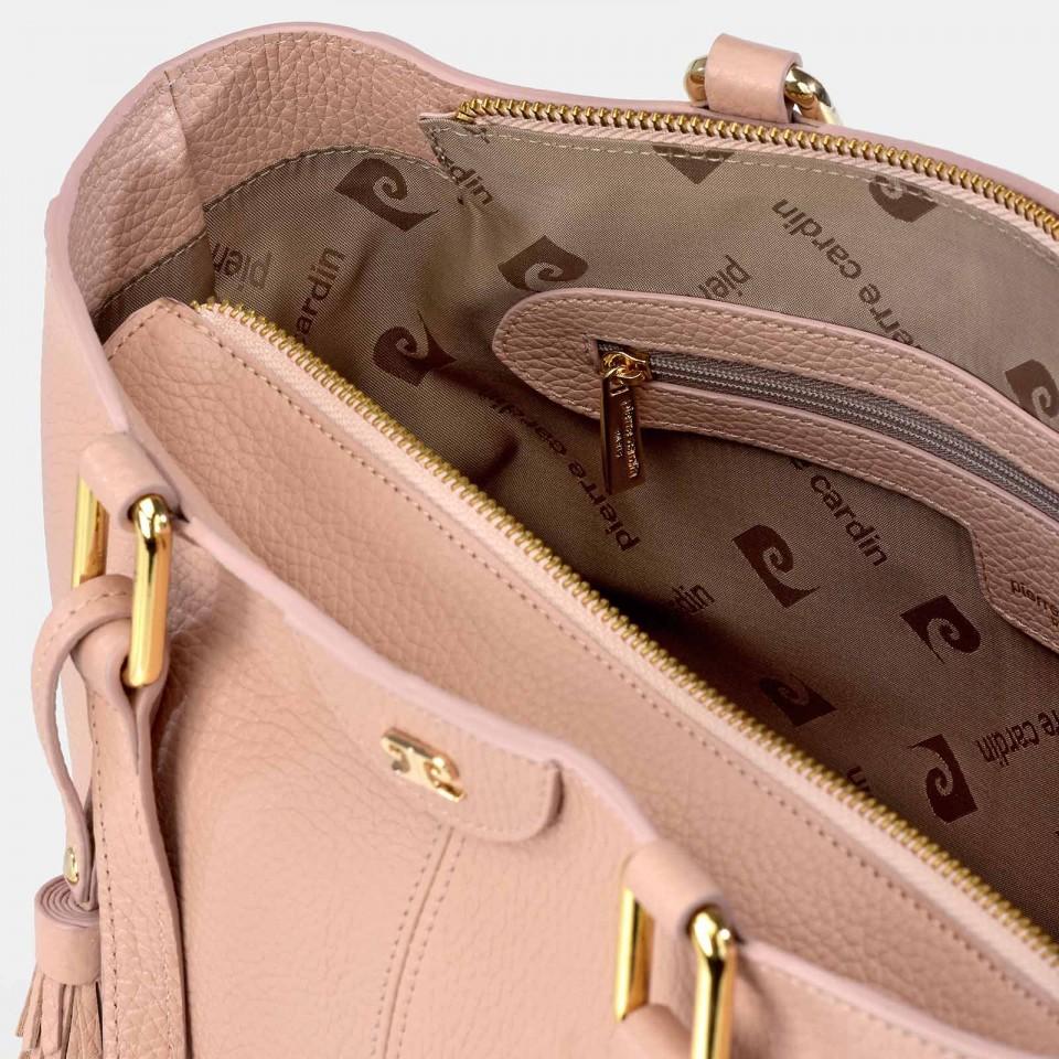 Monedero Billetero de Mujer Calidad PU-Coco marca Pierre Cardin 6511