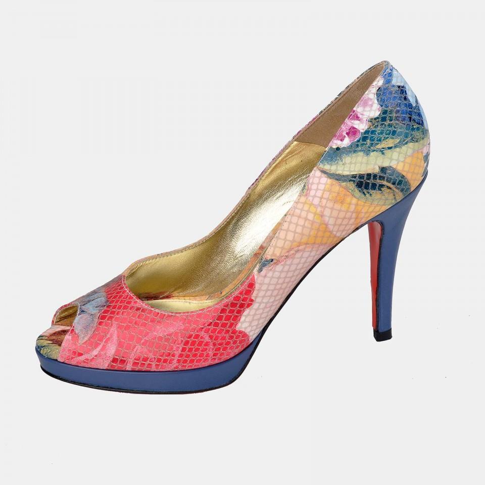 Zapato piel de tacón para mujer Victorio & Lucchino