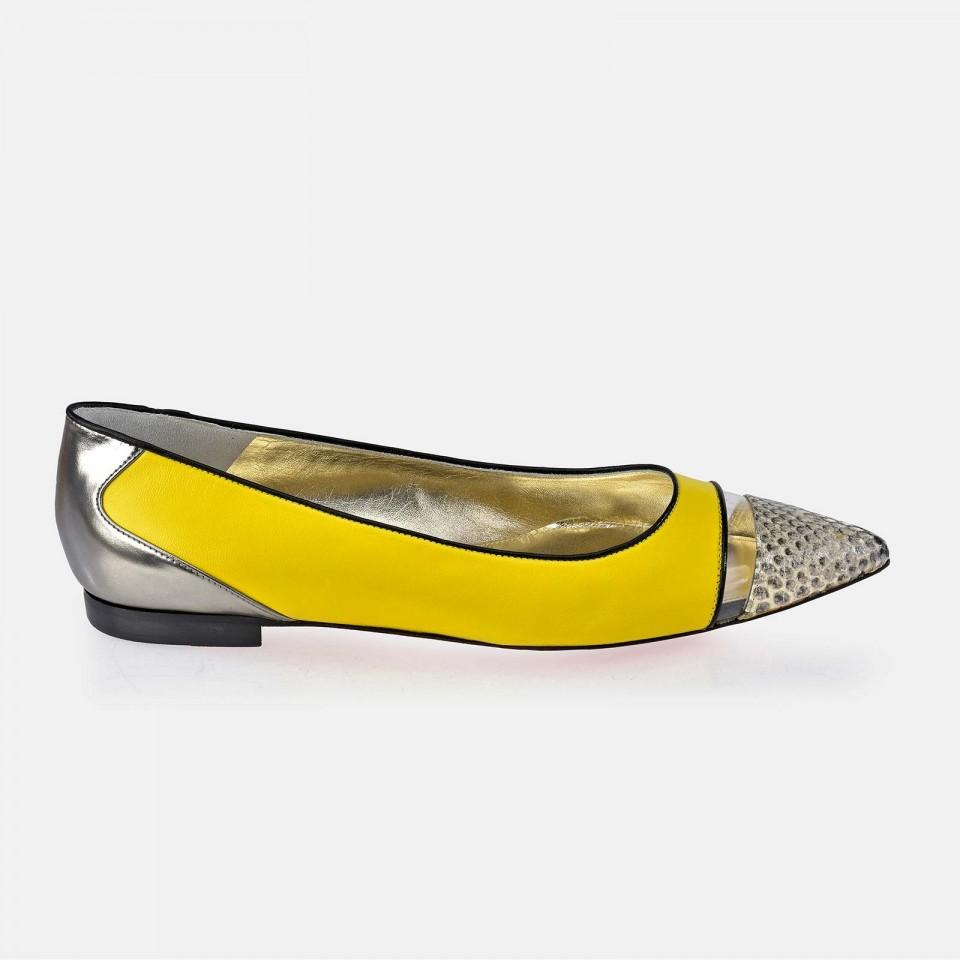Zapato plano en piel Napa para mujer Victorio & Lucchino