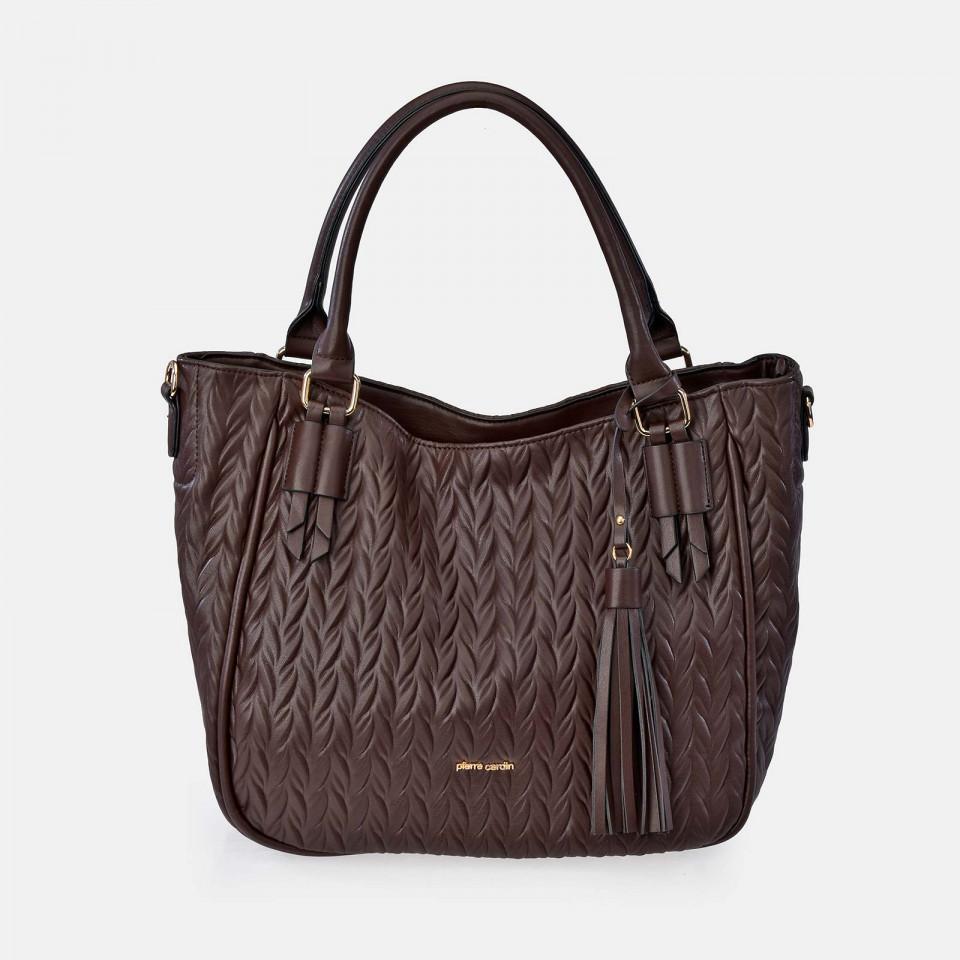 Bolso Shopping Grande para Mujer Acolchado PIERRE CARDIN