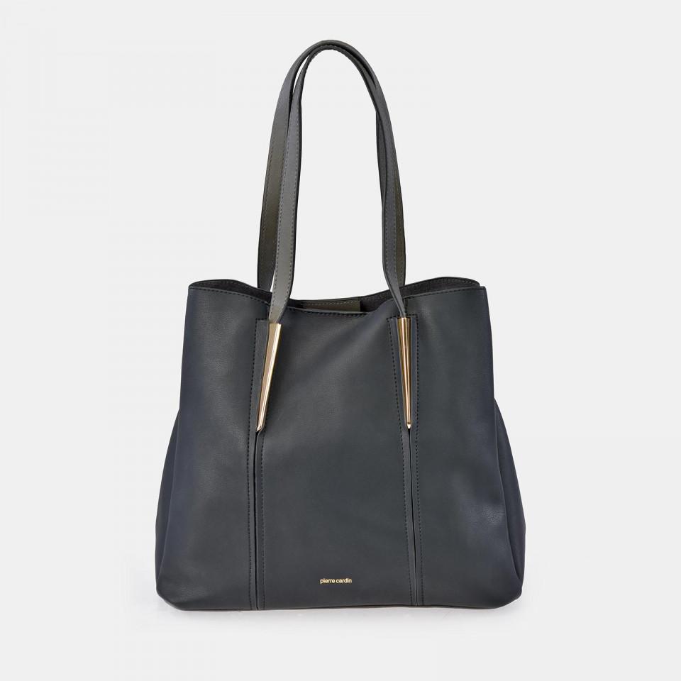 Bolso Shopping Grande para Mujer Napa PIERRE CARDIN