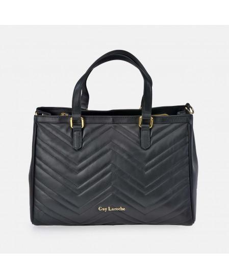 Bolso Shopping Grande de Piel para Mujer Acolchado GUY LAROCHE