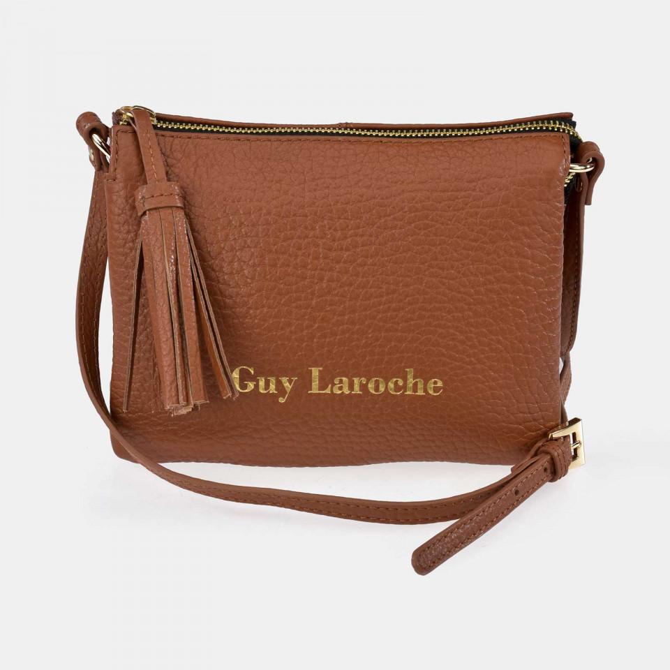 2bb8653ee1e Bolso Carryall Flat Guy Laroche 11678