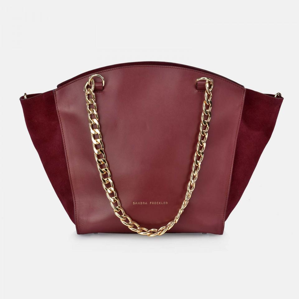 Bolso Shopping para Mujer modelo Marta Piel SANDRA FRECKLED