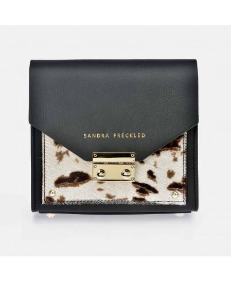 Bolso de Bandolera para Mujer modelo CARMEN Piel grabado Manchas SANDRA FRECKLED