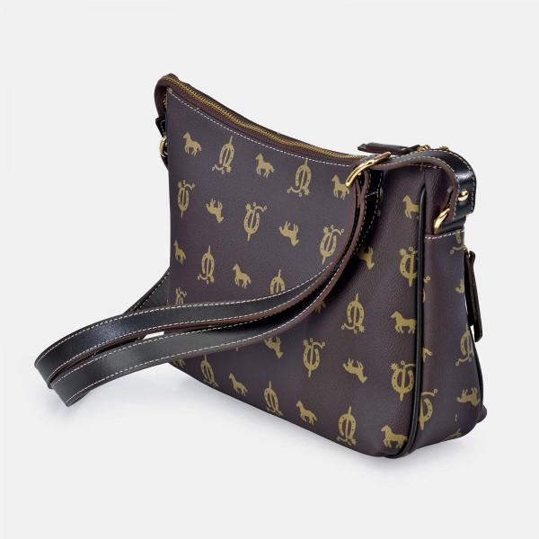 Bolso de Mujer Shopping con Tachuelas El Caballo Negro 1020 Outlet