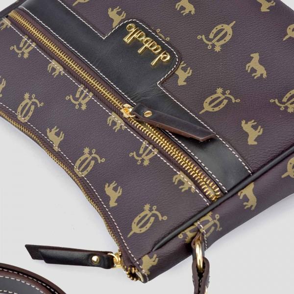 Bolso de Mujer Shopping con Tachuelas El Caballo Marron Claro 1020 Outlet