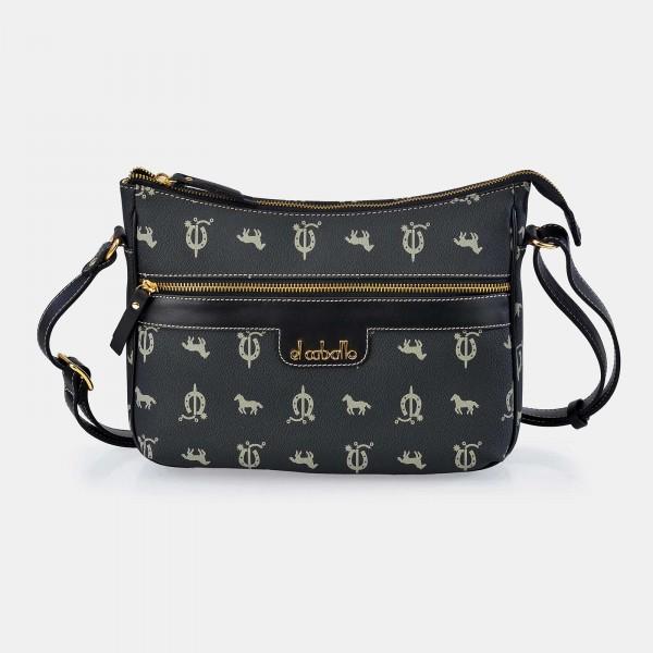 Bolso de Mujer Shopping con Tachuelas El Caballo Azul 1020 Outlet