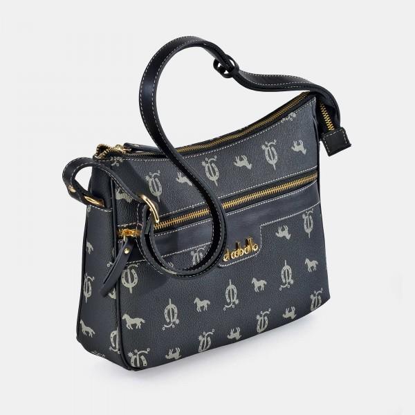 Bolso de Mujer Shopping con Tachuelas El Caballo Rojo 1020 Outlet