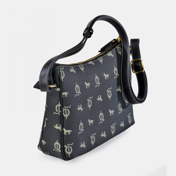 Bolso de Mujer Shopping con Tachuelas El Caballo Beige 1020 Outlet